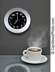 It's coffe break time