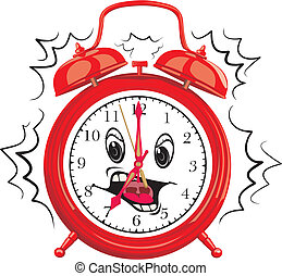 it`s time to get up - wake up, alarm clock, clock face
