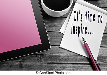 It's time to inspire...