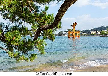 itsukushima shrine, giapponese