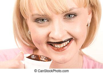 ivás, csípős chocolate