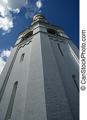 Ivan the Great Bell. Moscow Kremlin, Russia. UNESCO World Heritage Site