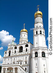 Ivan the Great bell tower, Moscow Kremlin, Russia