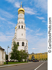 Ivan the Great Bell-Tower complex, Kremlin, Moscow, Russia