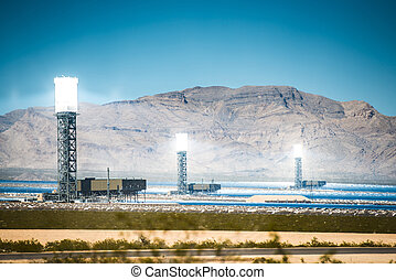 Ivanpah Solar Thermal Plant - Concentrated Solar Thermal...