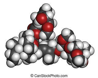 ivermectin, 使われた, riv, molecule., 薬, 待遇, antiparasitic