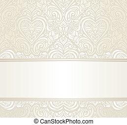 ivitation, 明るい, デザイン, 結婚式