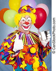 ivre, tipsy, clown
