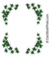 Ivy border simple - Image and illustration composition...