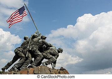 Iwo Jima Washington DC - WASHINGTON DC - AUGUST 20: Iwo Jima...