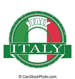 iyaly flag stamp