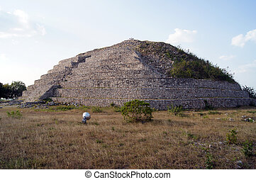 izamal, ピラミッド