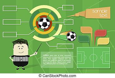 izbogis, futball, infographics
