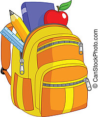 izbogis, hátizsák