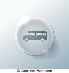 izbogis, study., jelkép, bus., szállít, ikon