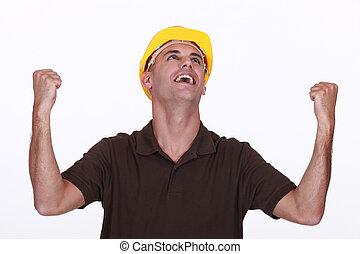 izgatott, építő