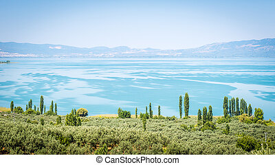 Iznik lake in Turkey.