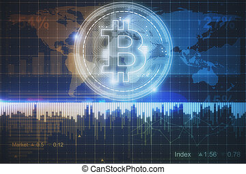 izzó, bitcoin, háttér
