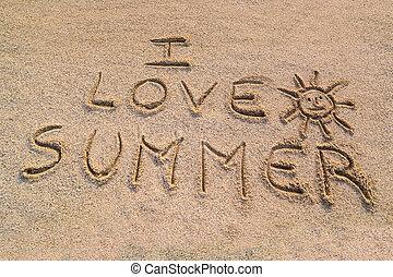 já, láska, léto, znak