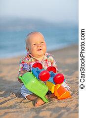 játék, csecsemő