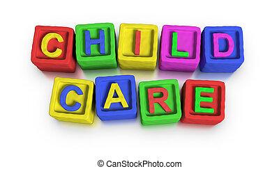 játék, eltöm, :, gyermekgondozás