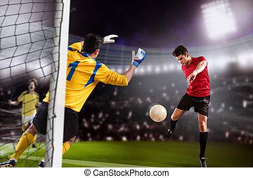 játék, futball