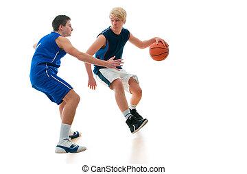 játék, kosárlabda