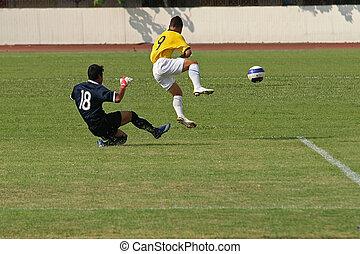 játék, labdarúgás