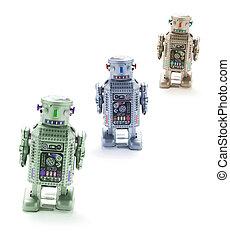 játékszer, robotok