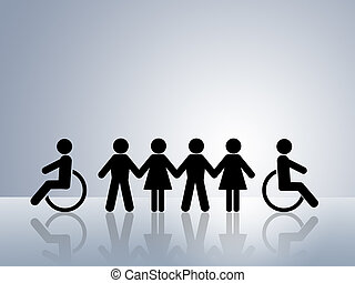 jämlike, oppurtunities, för, alla