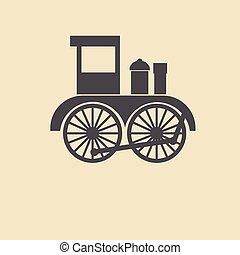 järnväg, ikon