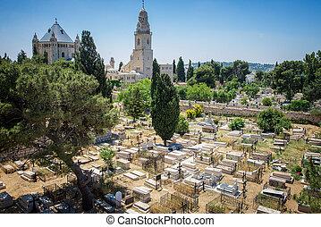 jérusalem, cimetière