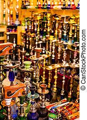 jérusalem, traditionnel, rue, israel., marché