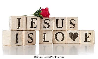 jésus, amour