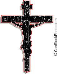 jésus, sur, les, croix