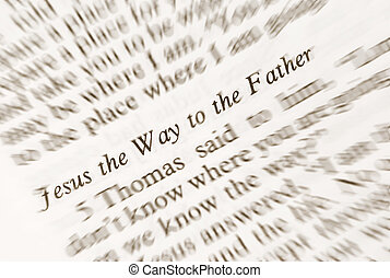 jézus, a, irány, fordíts, a, fahter