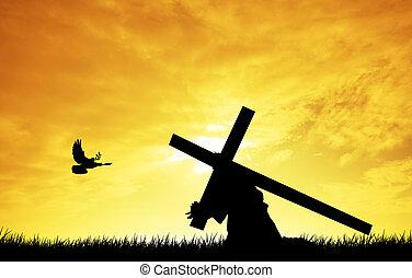 jézus, kereszt