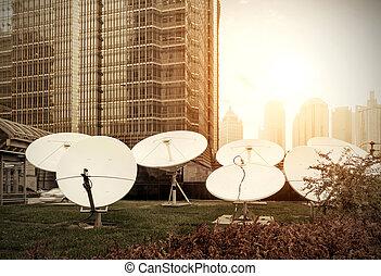 jídlo, satelit