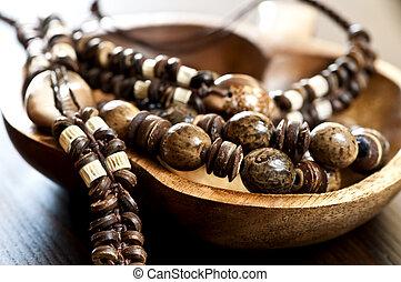 jóia, crafted, mão