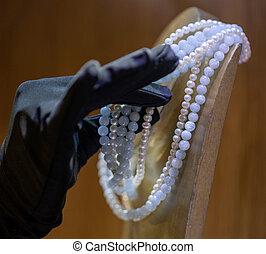 jóia, mão