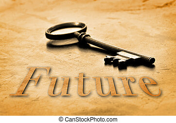 jövő, kulcs