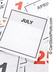 július