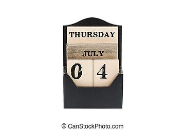 július, szabadság, negyedik, bennünket, nap