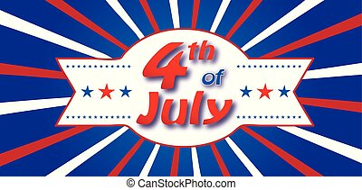 július, transzparens, negyedik