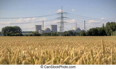 jądrowa elektrownia