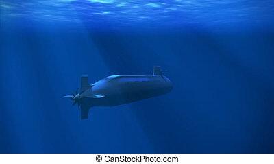 jądrowy, łódź podwodna