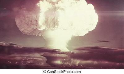 jądrowy, pełny, detonacja