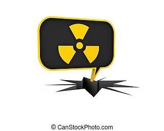 jądrowy, powierzchnia