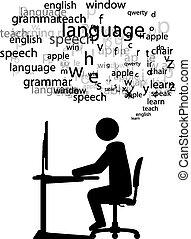 język, nauka