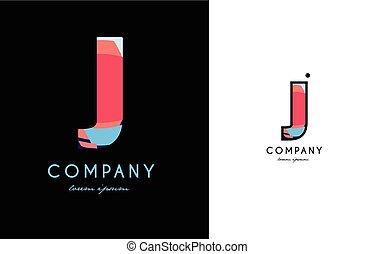 V Blue Red Letter Alphabet Logo Vector Icon Design V Blue Red
